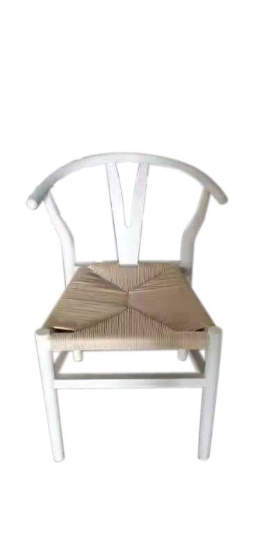 Wishbone Wooden Chair White
