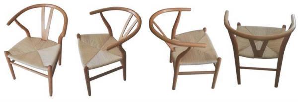 Wooden Wishbone Chair Design